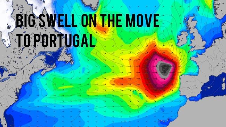 swell alert portugal