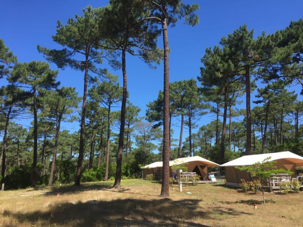 camping le porge