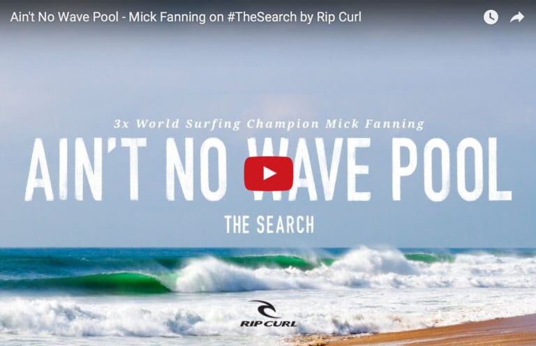 Mick Fanning's secret wave