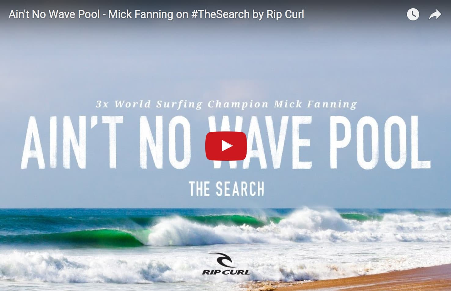 mick fanning secret wave