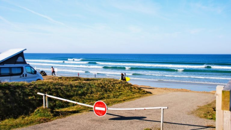 Where to surf in Europe in August?