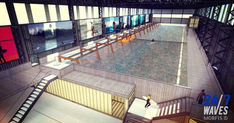 First European indoor wavepool
