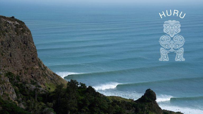 Huru. Surfing the magical lefthanders of New Zealand.